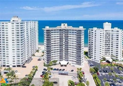 Photo of 3700 Galt Ocean Dr #1102, Fort Lauderdale, FL 33308 (MLS # F10207001)