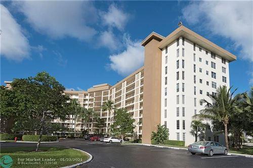 Photo of 3051 N COURSE DR #211, Pompano Beach, FL 33069 (MLS # F10268001)
