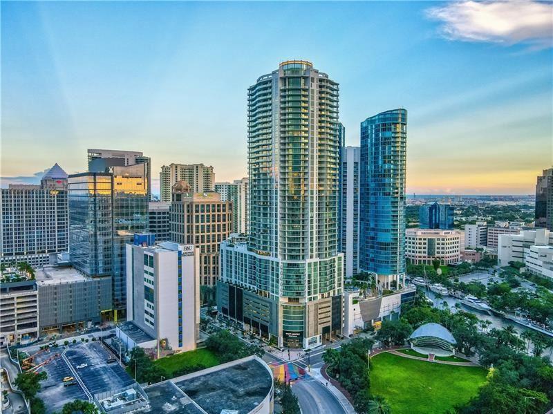 Photo of 100 E Las Olas Blvd #3402, Fort Lauderdale, FL 33301 (MLS # F10270001)