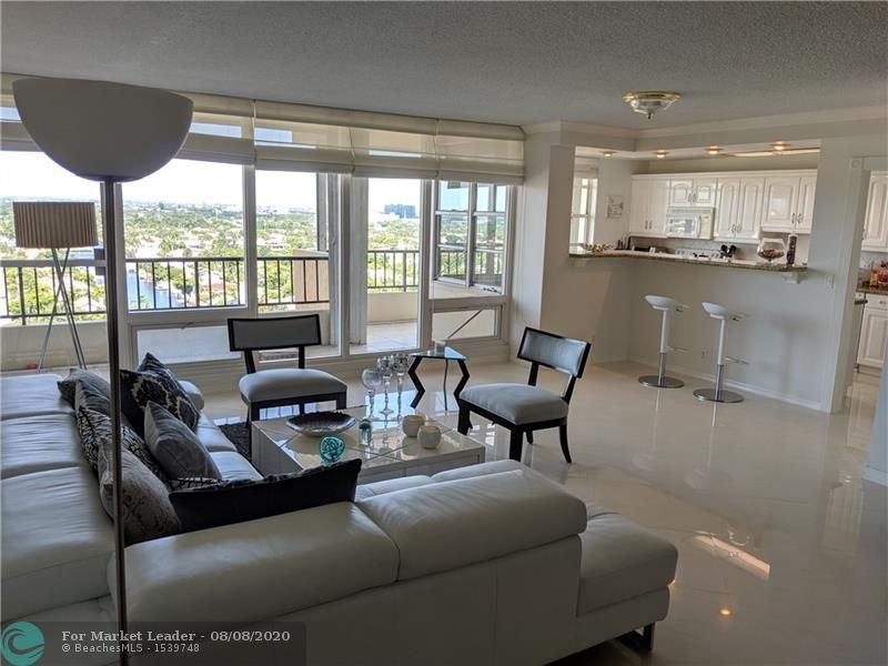 Photo of 4280 Galt Ocean Dr #15E, Fort Lauderdale, FL 33308 (MLS # F10242002)