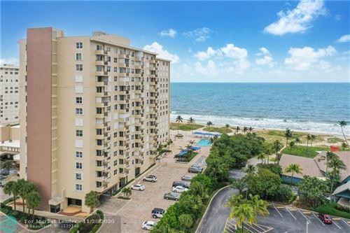 Photo of 2000 S Ocean Blvd #4N, Lauderdale By The Sea, FL 33062 (MLS # F10260004)