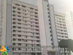 Photo of 1401 N Riverside Dr #1404, Pompano Beach, FL 33062 (MLS # F10186005)