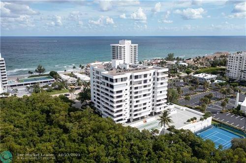 Photo of 3450 S Ocean Blvd #PH-2, Highland Beach, FL 33487 (MLS # F10305005)