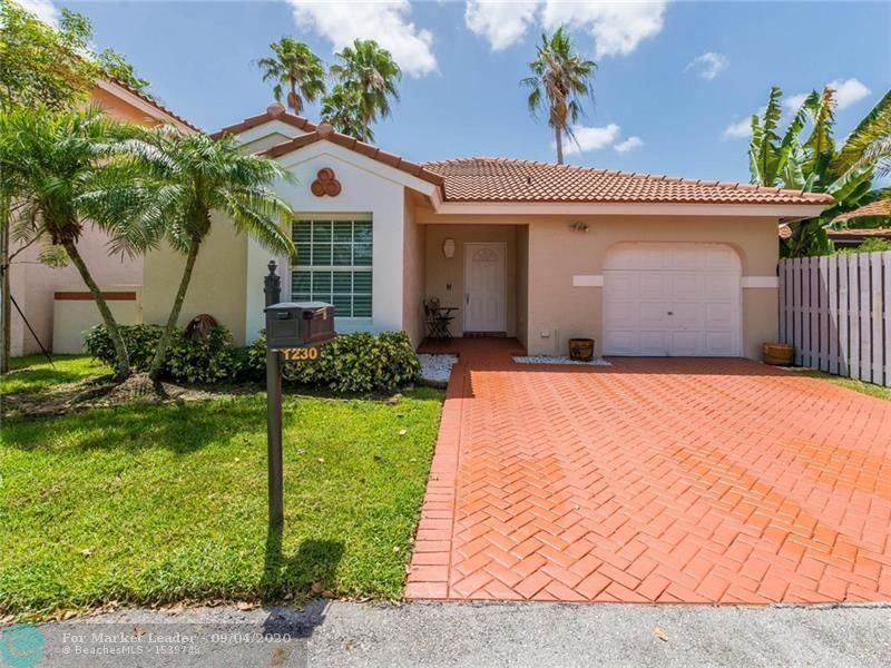 1230 Garden Rd, Weston, FL 33326 - #: F10247007