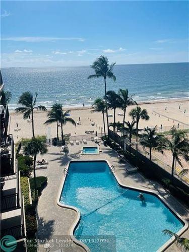 Photo of 3800 Galt Ocean Dr #609, Fort Lauderdale, FL 33308 (MLS # F10297008)