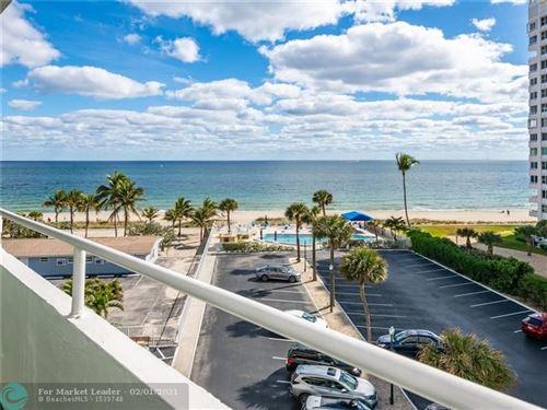 Photo of 4050 N Ocean Drive #506, Lauderdale By The Sea, FL 33308 (MLS # F10269009)