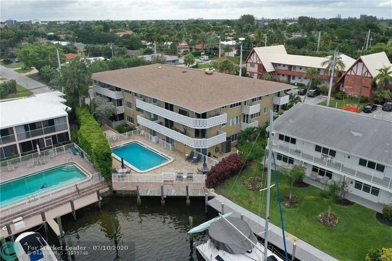 Photo of 3220 NE Bayview Dr #102, Fort Lauderdale, FL 33306 (MLS # F10238011)