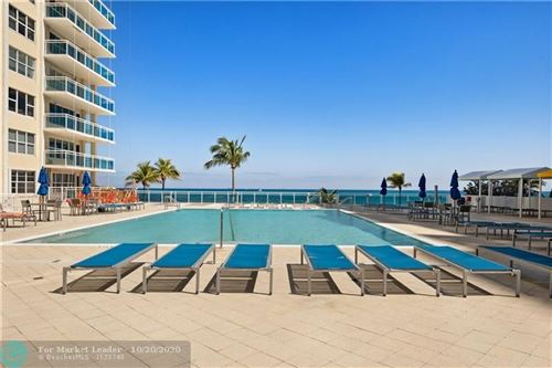 Photo of 3900 Galt Ocean Dr #107, Fort Lauderdale, FL 33308 (MLS # F10220013)