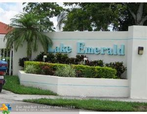 Photo of 114 Lake Emerald Dr #407, Oakland Park, FL 33309 (MLS # F10136014)