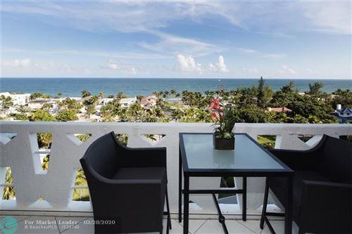 Photo of 2840 N OCEAN BLVD #902, Fort Lauderdale, FL 33308 (MLS # F10223014)