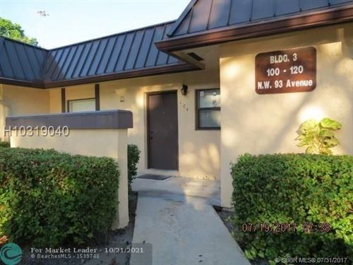 Photo of 104 NW 93rd Ave #102, Pembroke Pines, FL 33024 (MLS # F10305014)
