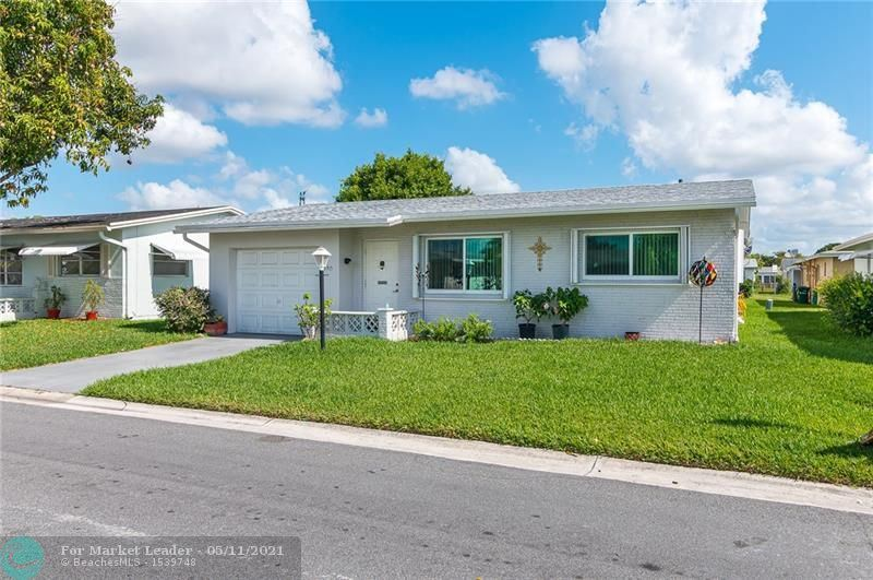 Photo of 6915 NW 14th Pl, Margate, FL 33063 (MLS # F10284014)