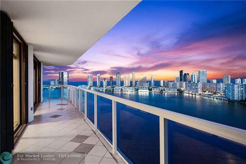 Photo of 4000 Island Blvd #2907, Aventura, FL 33160 (MLS # F10250018)