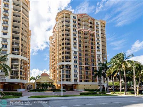 Photo of 2011 N Ocean Blvd #804, Fort Lauderdale, FL 33305 (MLS # F10264018)