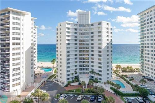 Photo of 3600 Galt Ocean Dr #6C, Fort Lauderdale, FL 33308 (MLS # F10255020)
