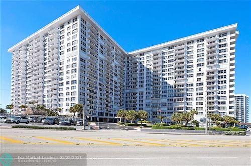 Photo of 405 N Ocean Blvd #118, Pompano Beach, FL 33062 (MLS # F10268021)