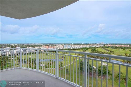 Photo of 1745 E Hallandale Beach Blvd #1202W, Hallandale, FL 33009 (MLS # F10221024)