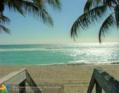 Photo of 101 N Ocean Dr #489, Hollywood, FL 33019 (MLS # F10211025)