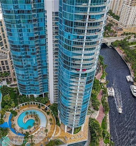 Photo of 333 Las Olas Way #3806, Fort Lauderdale, FL 33301 (MLS # F10250026)