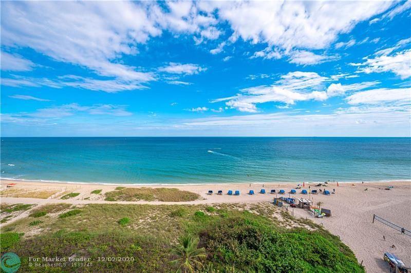 Photo of 704 N Ocean Blvd #801, Pompano Beach, FL 33062 (MLS # F10261031)