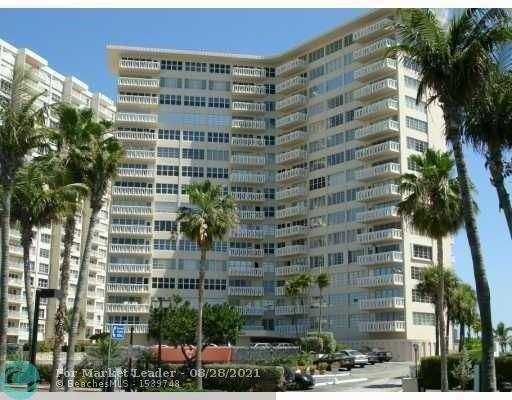 Photo of 3700 Galt Ocean Dr #804, Fort Lauderdale, FL 33308 (MLS # F10298031)