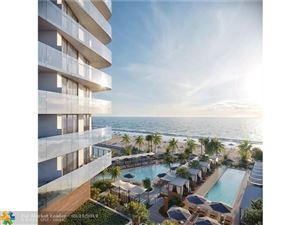 Photo of 525 N Ft Lauderdale Bch Bl #1608, Fort Lauderdale, FL 33304 (MLS # F10163032)