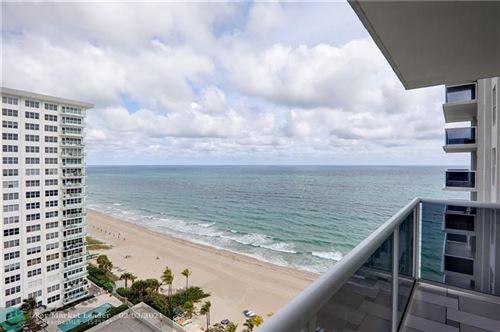 Photo of 3500 Galt Ocean Dr #1416, Fort Lauderdale, FL 33308 (MLS # F10267032)