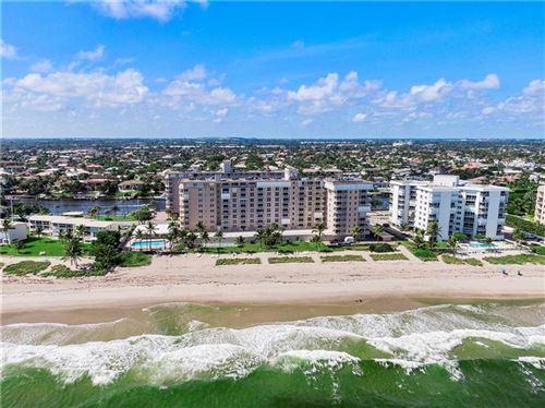 Photo of 1051 Hillsboro Mile #201E, Hillsboro Beach, FL 33062 (MLS # F10275032)