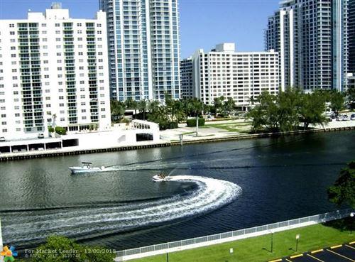 Photo of 800 Parkview Dr #1007, Hallandale, FL 33009 (MLS # F10184035)