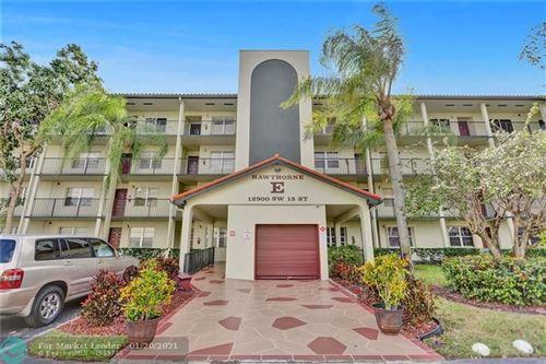 Photo of 12900 SW 13th St #203, Pembroke Pines, FL 33027 (MLS # F10267037)