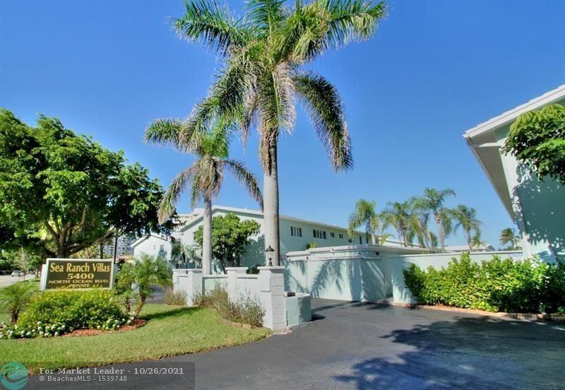 Photo of 5400 N Ocean Blvd #44, Lauderdale By The Sea, FL 33308 (MLS # F10298038)