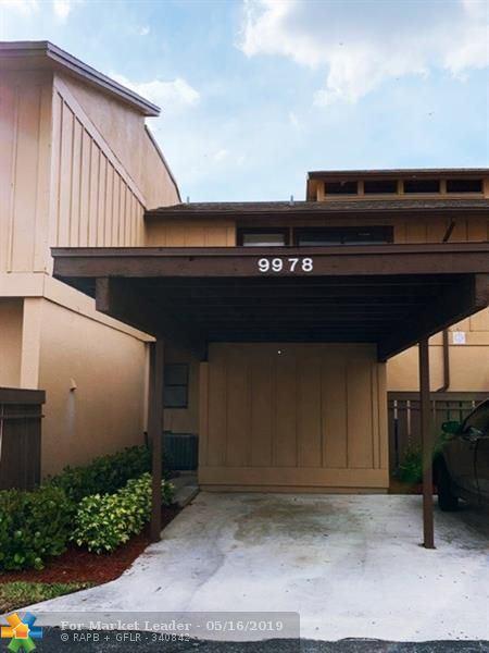 Photo for 9978 Royal Palm Blvd, Coral Springs, FL 33065 (MLS # F10176042)