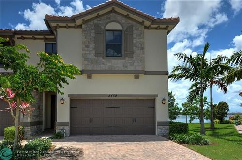Photo of 8459 LAKEVIEW TRAIL #8459, Parkland, FL 33076 (MLS # F10234043)