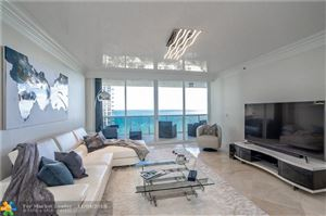 Photo of 3100 N OCEAN BL #D-1402, Fort Lauderdale, FL 33308 (MLS # F10147044)