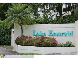 Photo of 109 Lake Emerald #206, Oakland Park, FL 33326 (MLS # F10135048)