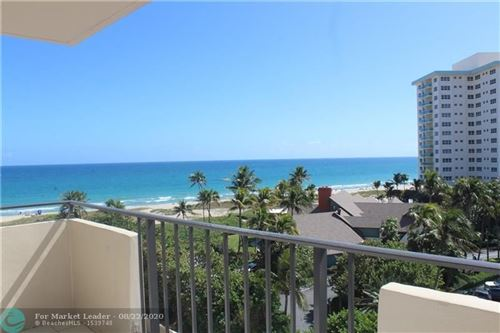 Foto de inmueble con direccion 2000 S Ocean Blvd #6L Lauderdale By The Sea FL 33062 con MLS F10189049