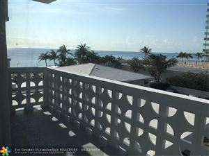 Photo of 4010 Galt Ocean Dr #309, Fort Lauderdale, FL 33308 (MLS # F10113051)