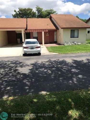 Photo of 4717 Satinwood Trl #4717, Coconut Creek, FL 33063 (MLS # F10229051)
