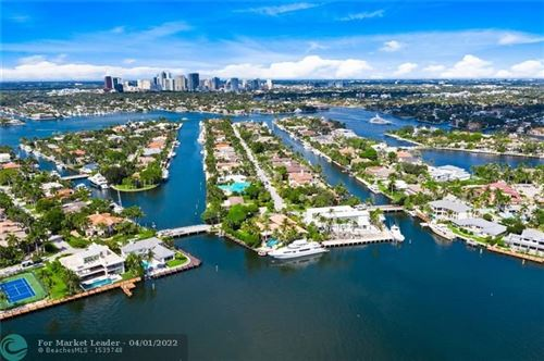 Photo of 1400 W LAKE DR, Fort Lauderdale, FL 33316 (MLS # F10305051)
