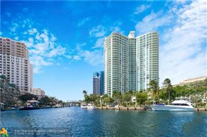 Photo of 347 N NEW RIVER DR E #1602, Fort Lauderdale, FL 33301 (MLS # F10166053)