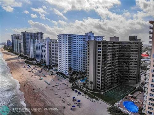 Photo of 3800 Galt Ocean Dr #1014, Fort Lauderdale, FL 33308 (MLS # F10226053)