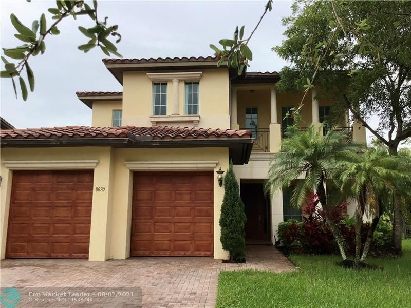 Photo for 8070 NW 126th Ter, Parkland, FL 33076 (MLS # F10296053)
