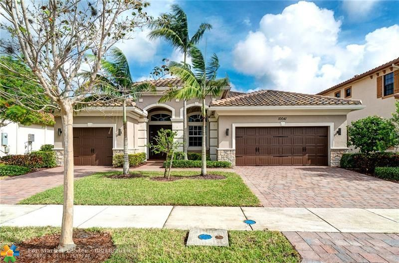 Photo for 10041 EDGEWATER CT, Parkland, FL 33076 (MLS # F10145054)