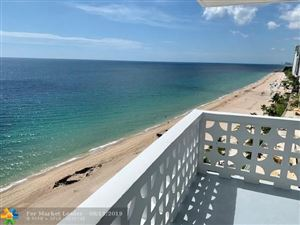 Photo of 4010 Galt Ocean Dr #1004, Fort Lauderdale, FL 33308 (MLS # F10190057)