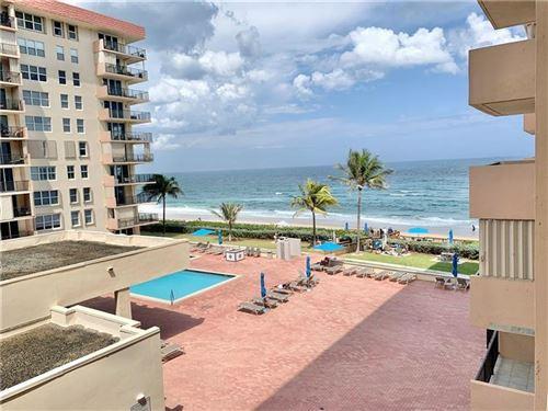 Photo of 1147 Hillsboro Mile #409, Hillsboro Beach, FL 33062 (MLS # F10279057)