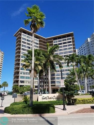 Photo of 3800 Galt Ocean Dr #214, Fort Lauderdale, FL 33308 (MLS # F10247058)