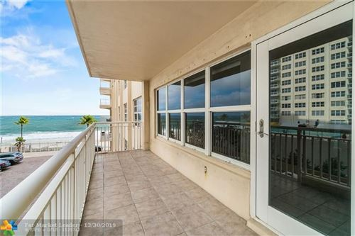 Photo of 3850 Galt Ocean Dr #310, Fort Lauderdale, FL 33308 (MLS # F10209060)