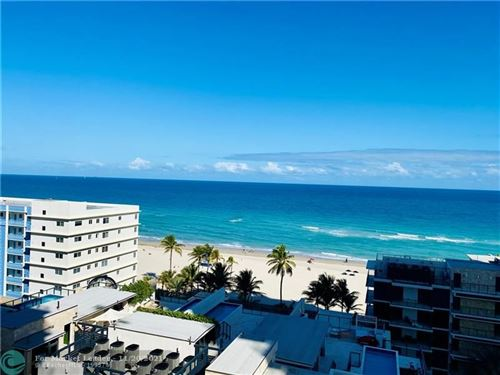 Photo of 2101 S S Ocean Dr #1101, Hollywood, FL 33019 (MLS # F10271060)
