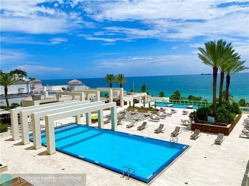 Photo of 101 S Fort Lauderdale Beach Blvd #802, Fort Lauderdale, FL 33316 (MLS # F10246062)