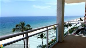 Photo of 3900 Galt Ocean Dr #401, Fort Lauderdale, FL 33308 (MLS # F10182064)